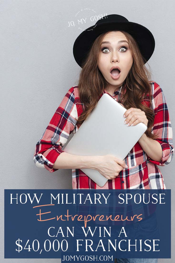 If you've ever dreamed about opening your own business, you'll want to check out this giveaway. A veteran-owned business is giving 5 military spouses franchises worth $40,000 as well as training and help to get them started so they have a flexible, remote, and PCS-safe career. You could be one of those milspouses. #ad