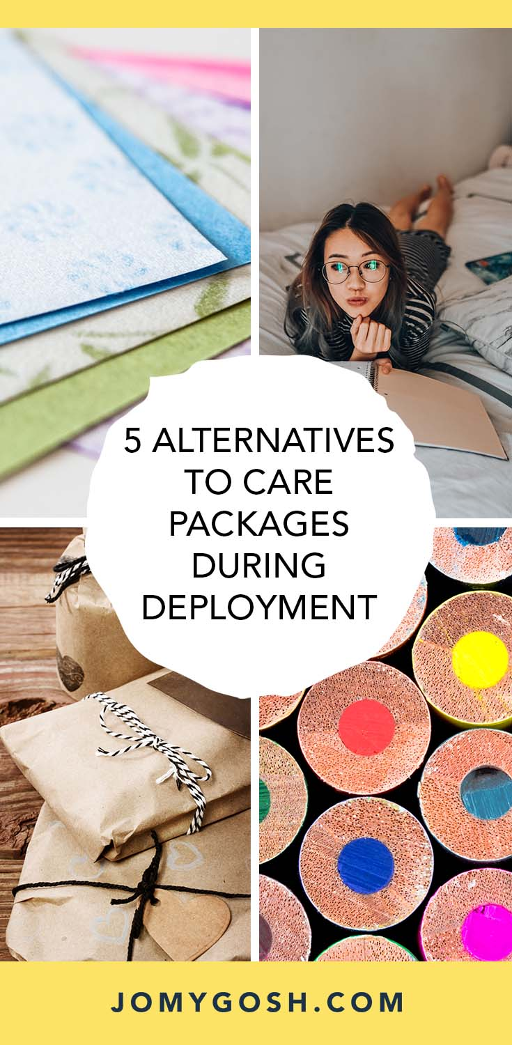 Love these easy and inexpensive care package ideas! For the next deployment