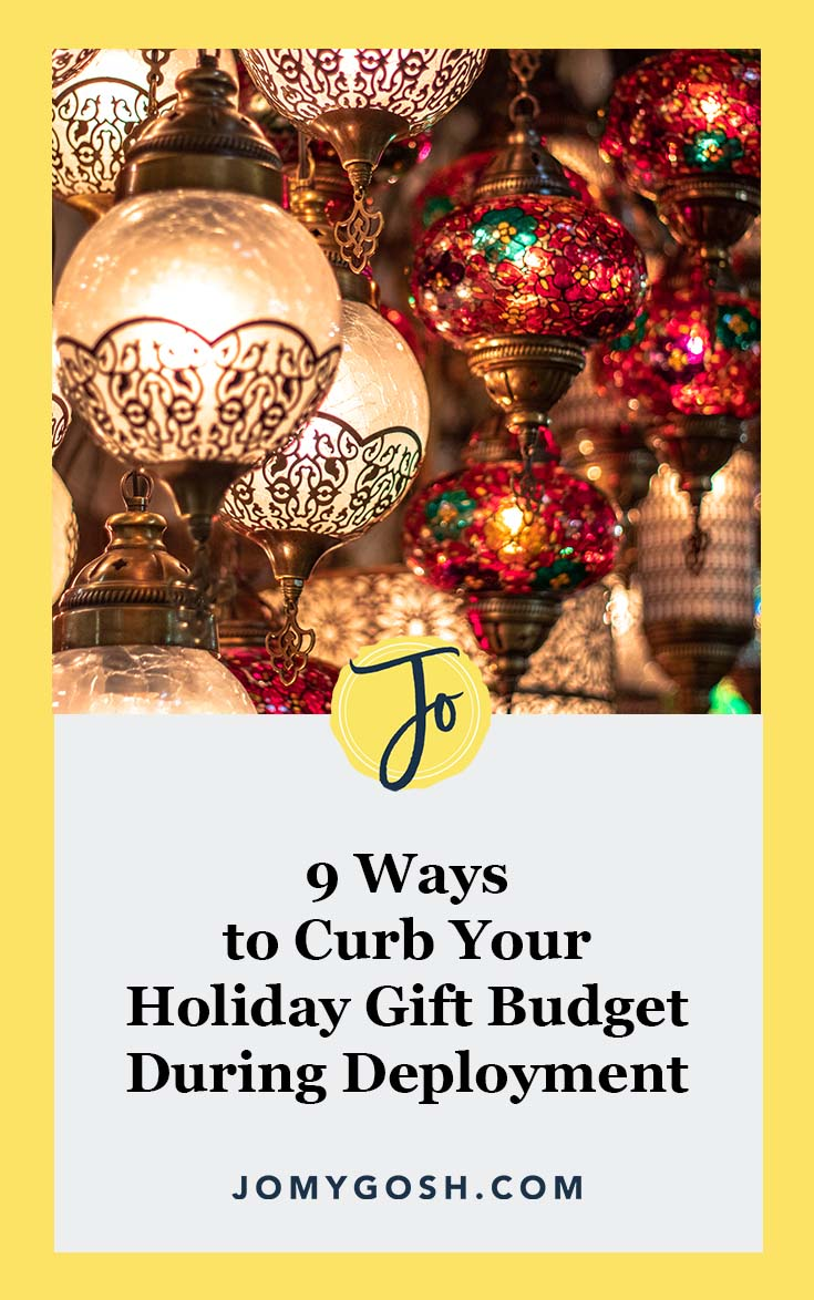 These are some of the best tips to stop crazy spending during the holidays and Christmas on care packages during deployment. ad #military #militaryfamily #milfam #finance #finances #saving #savingmoney #budget #budgeting #militaryspouse #milspouse #militarywife #army #navy #airforce #marines #arng #reserves #xmas #christmas #holiday #gifts #gifting