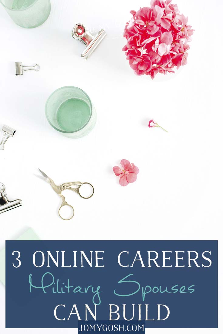 Great ideas for online, portable careers military spouses can take wherever they go