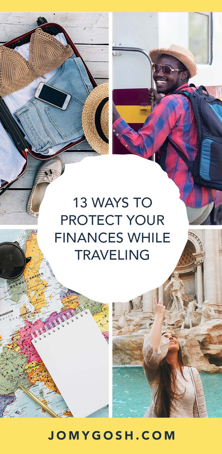 These tips can help to protect yourself while you're traveling abroad. #finances #travel #military #militaryfamily #milfam #navy #airforce #marines #coastguard #army #militarywife #militaryspouse #milspouse #milso #milso #traveltips #finances #protection