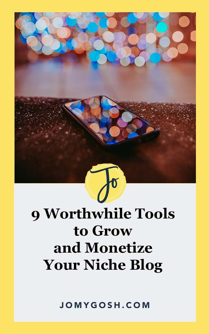 Great resource for starting to #monetize your #blog. #tips #jomygosh #blogging #blogger #bloggerboss #bossbabe #girlboss #niche #marketing #monetizing #makingmoney #finances #financial #sidehustle
