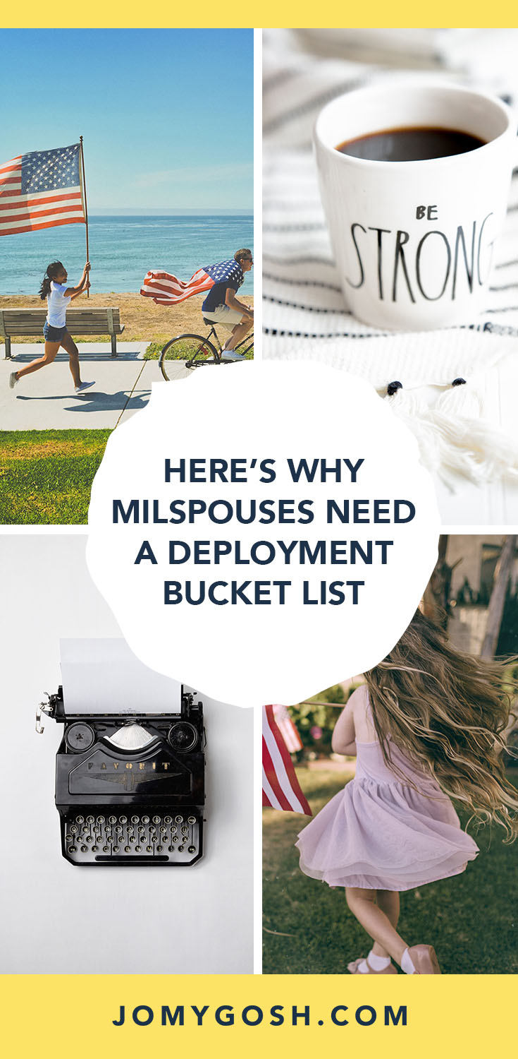 Here's Why Milspouses Need a Deployment Bucket List