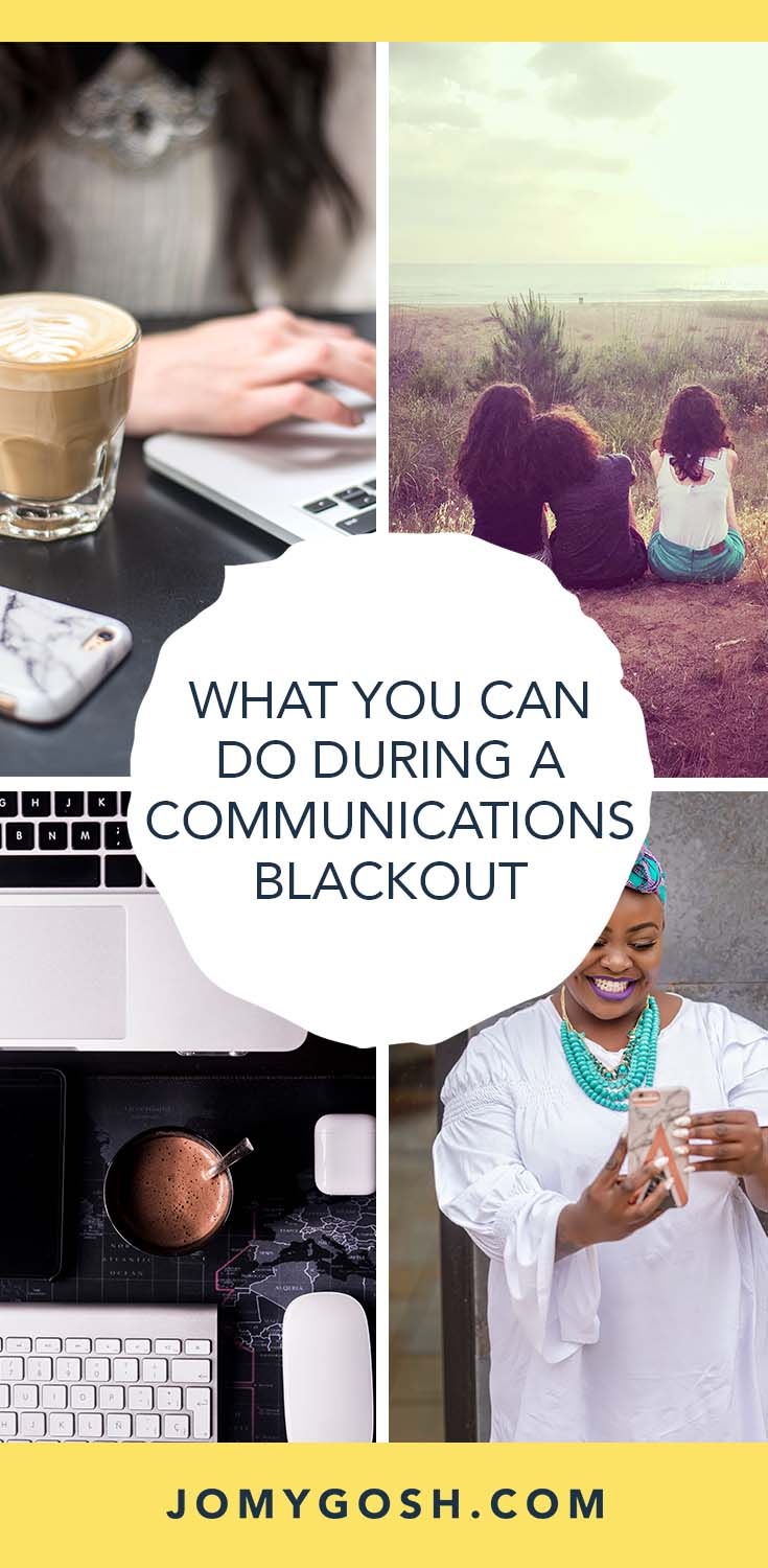During deployment, communications blackouts can be scary, especially if you don't know what they mean or how to be prepared for them.