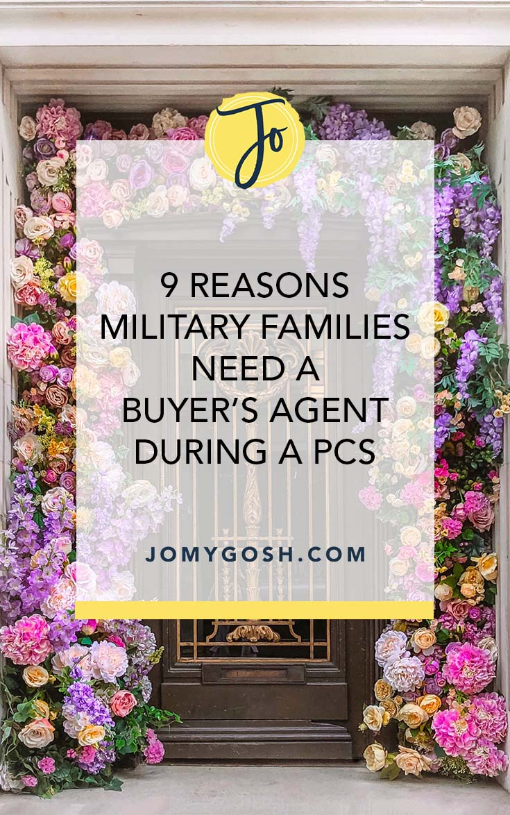 Buying a home during your PCS? Here's why you want to look into getting a buyer's agent. (Spoiler alert: it's free!) #ad #military #milfam #militaryfamily #milspouse #militaryspouse #milso #milsos #milspo #milspos #moving #pcshelp #movinghelp #home #homebuying #house #housebuying #realestate