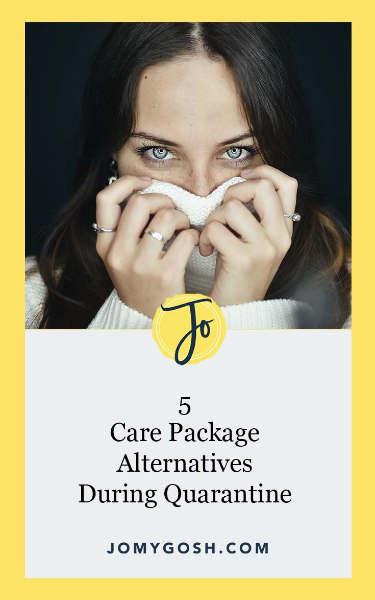 Whether you're sheltering in place or aren't in the mood to go out too much, use these ideas to send a lot of love, even when you're not making care packages. #quarantine #covid #coronavirus #ideas #happymail #military #deployment #carepackage #carepackages #missionary #missionaries #college #collegestudent #collegestudents #soldier #sailor #soldiers #sailors #craft #idea #inspiration