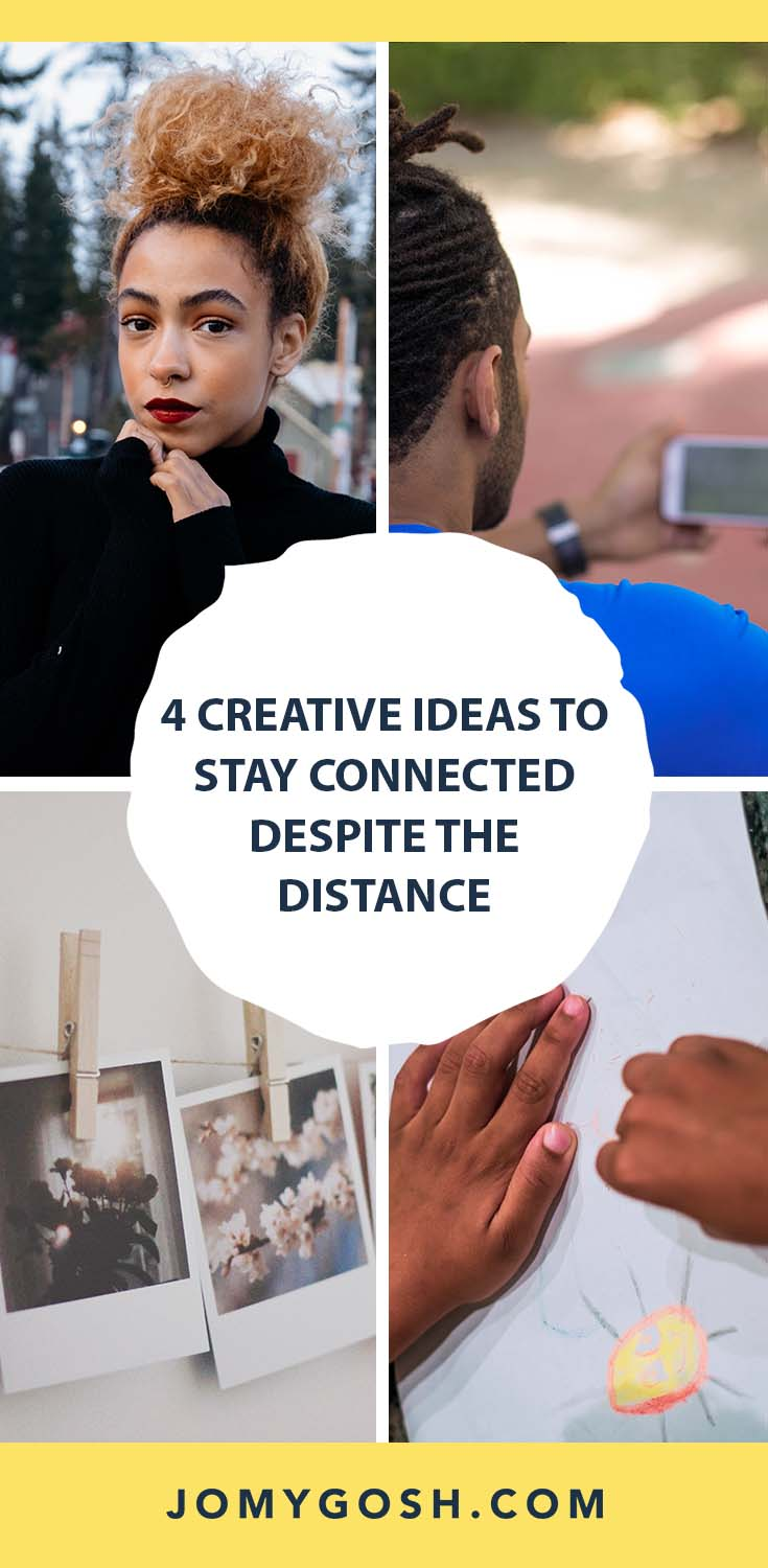 With almost everyone trying to find ways to be together without actually being together, we could all use a few new ways to connect. #military #jomygosh #longdistance #ldr #families #family #distance #happymail #creative #covid #pandemic #covid19 #kids