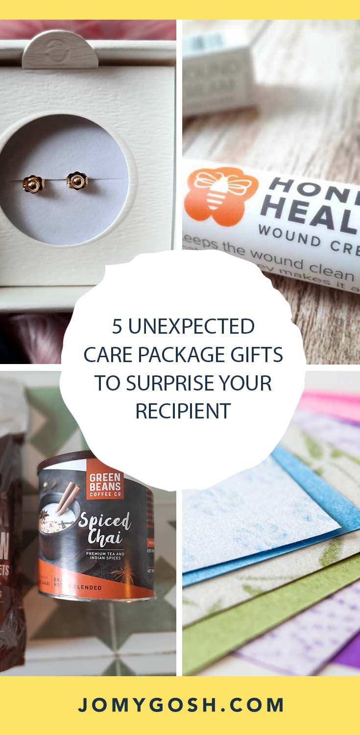 Jazz up your care packages with these unexpected gifts. #military #college #carepackage #carepackages #militaryspouse #longdistance #ldr #longdistancerelationship #happymail #jomygosh