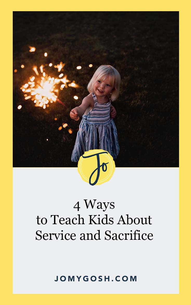 Talking about service and sacrifice is necessary. Here's how to foster the conversation. #ad #WWPCarryForward #ICarryFor #military #milspouse #militaryspouse #woundedwarrior #children #milfam #militaryfamily #army #navy #airforce #marines #coastguard #ng #reserves #nationalguard