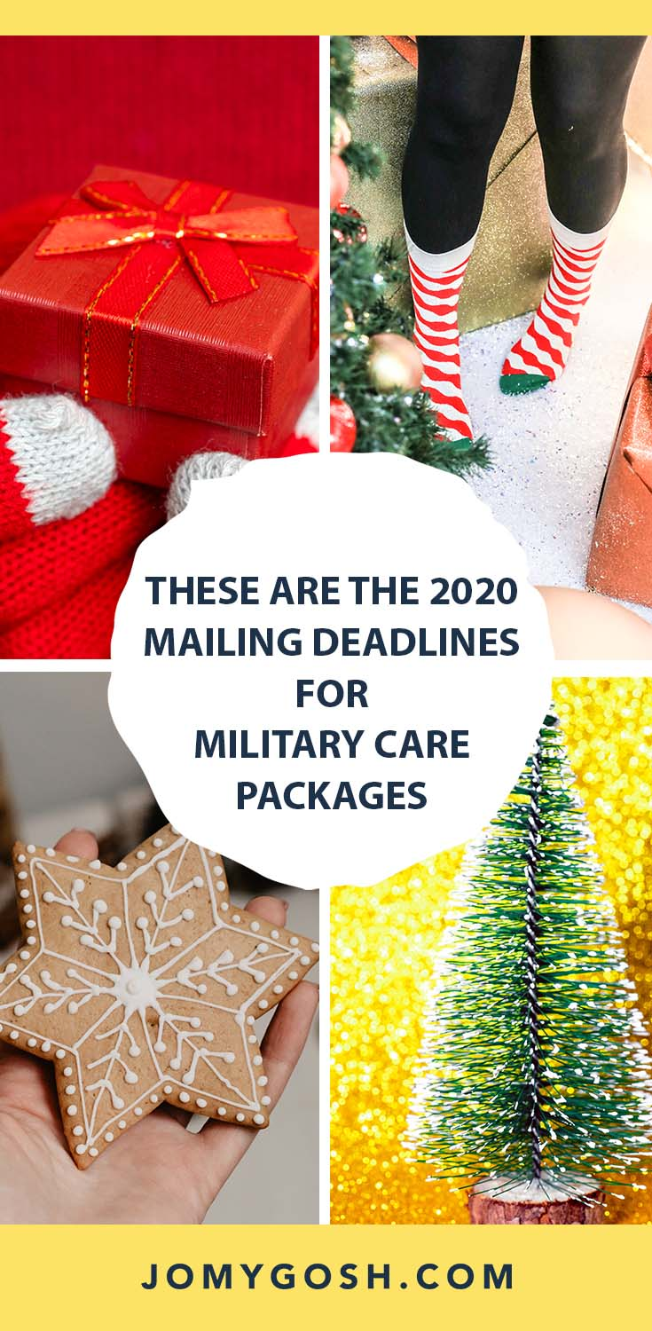 Mailing Deadlines For Christmas 2020 These Are the 2020 Mailing Deadlines for Military Care Packages