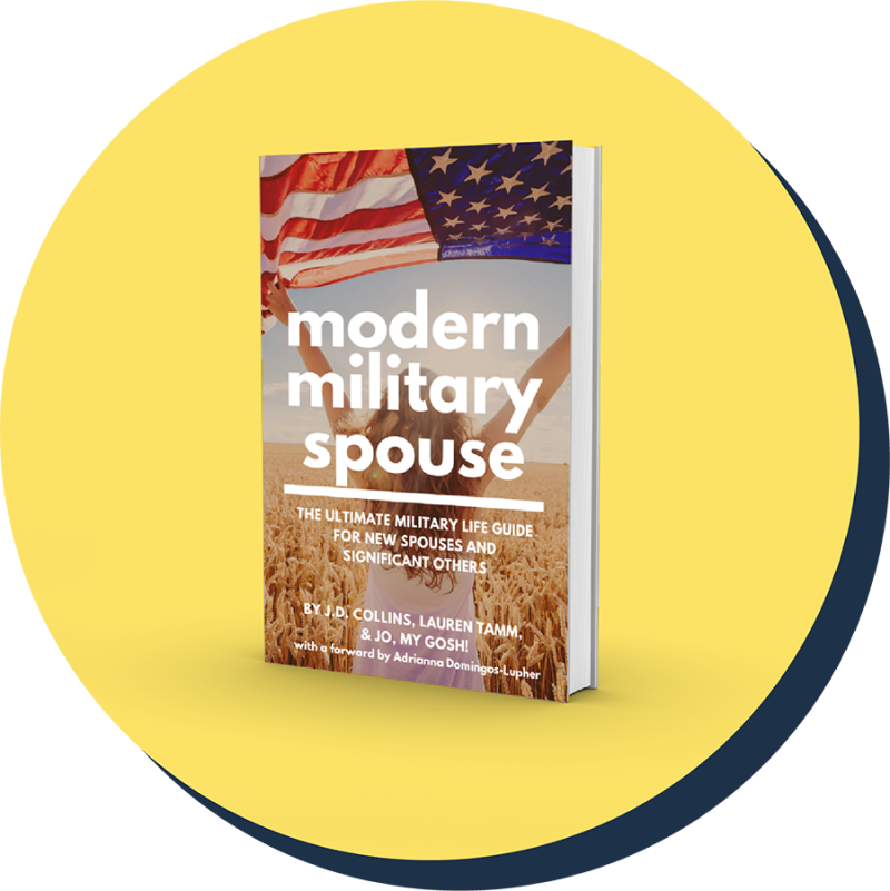 picture of the modern military spouse book