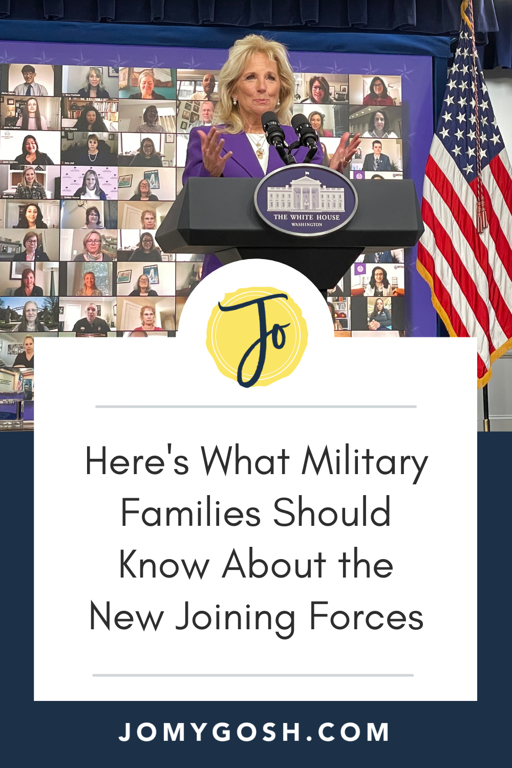 Joining Forces is back! Here's what you should know right now about the announcement. #military #militarynews #militaryfamilies #whitehouse #militaryspouse #employment #militarychild