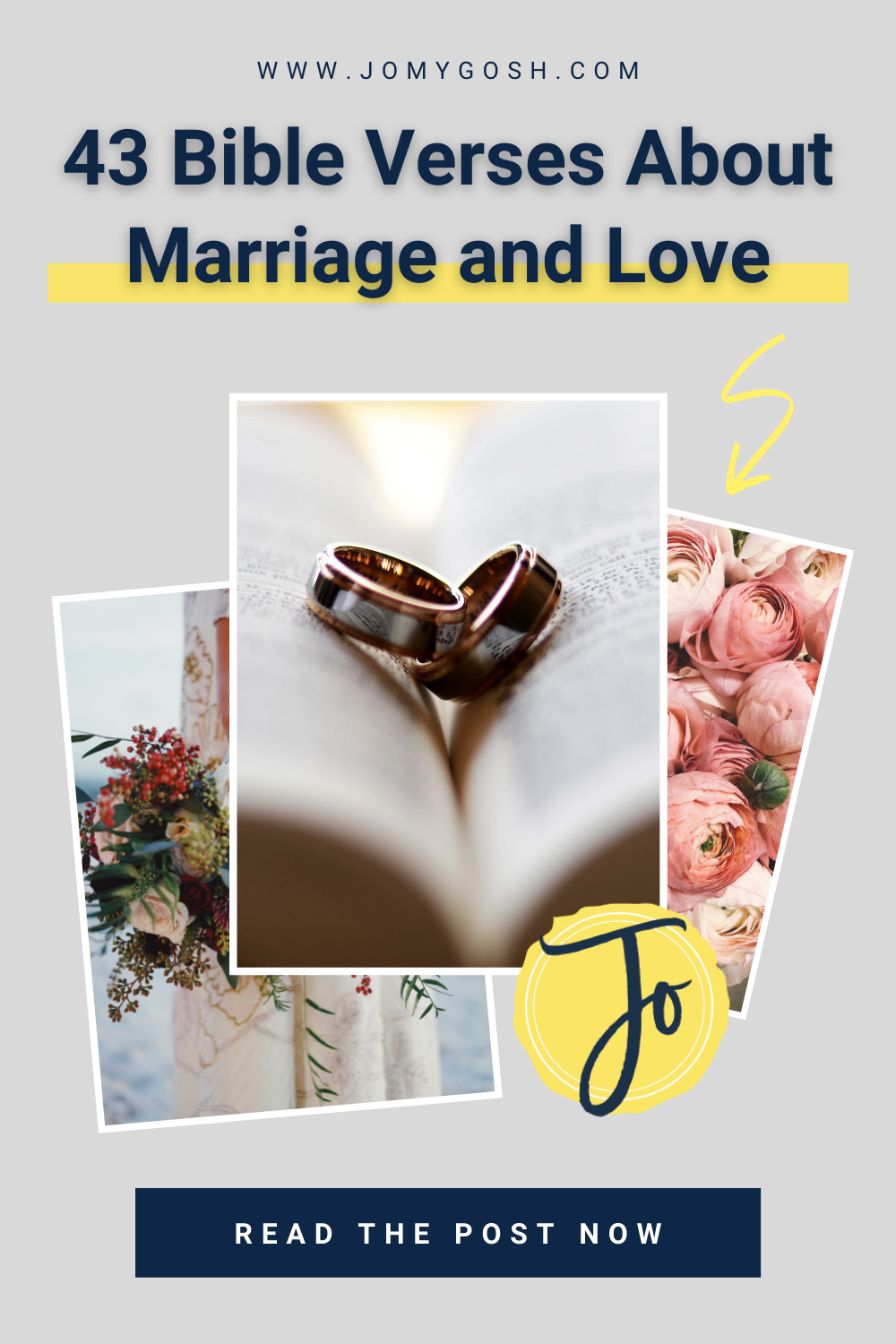 These collected Bible verses are all about marriage and love. #marriage #quotes #bible #bibleverse #wedding #love #religious #christian #christianity