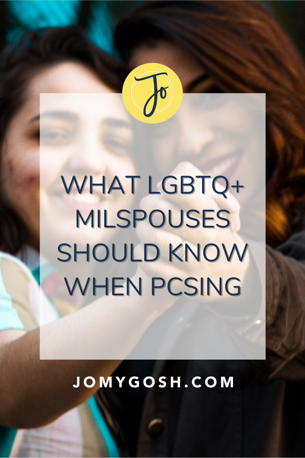 A military move can present challenges and opportunities for military spouses who identify as LGBTQ+. Here's what you should know before PCSing. #military #militaryspouse #milspouse #milso #milspo #milspouses #militaryspouses #milsos #milspos #lgbt #lgbtmilitary #lgbtq #army #airforce #navy #marines #coastguard